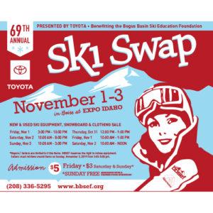 69th Annual Ski & Snowboard Swap @ Expo Idaho