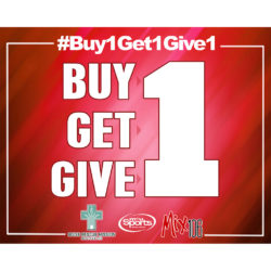 Buy 1 Get 1 Give 1