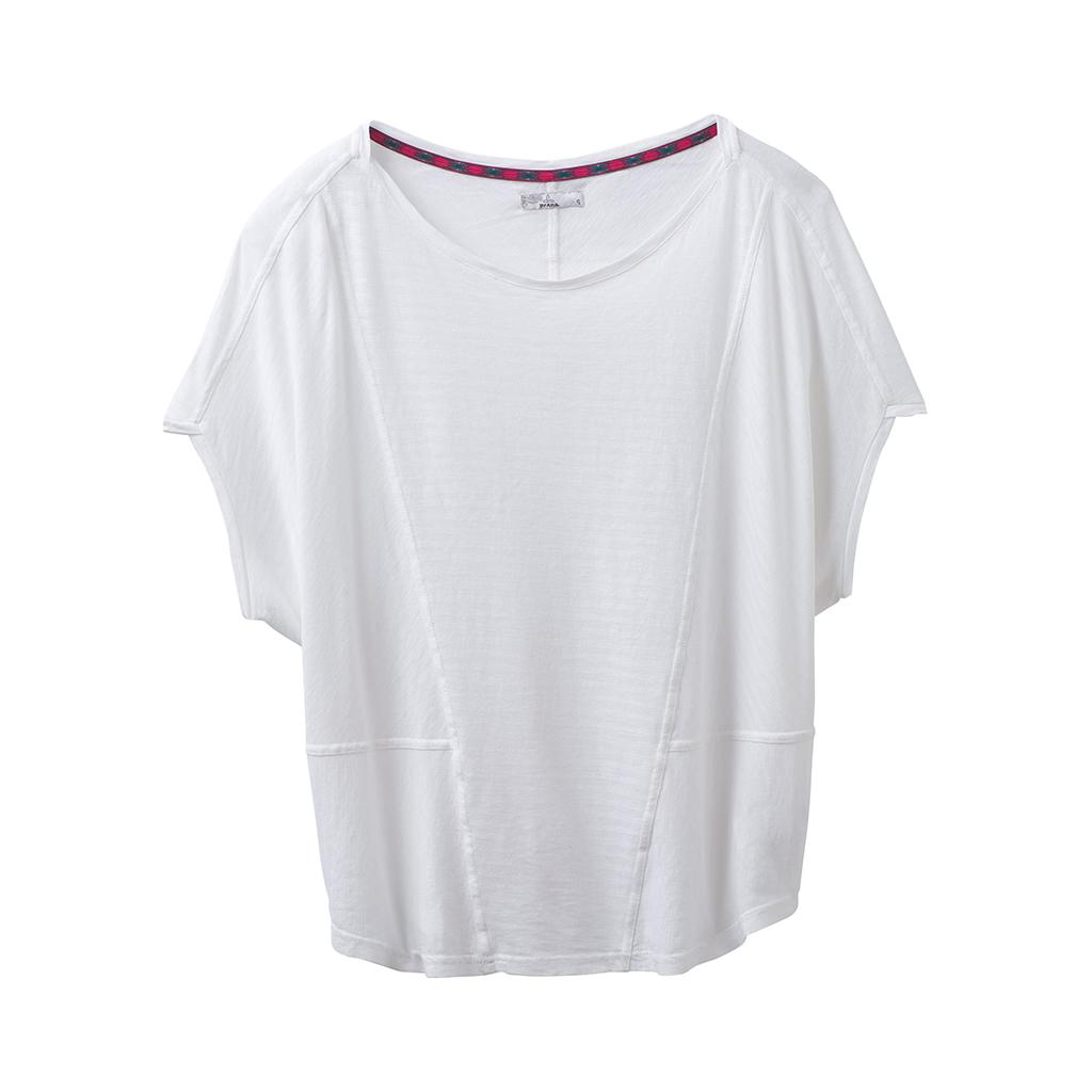 prAna Womens Seabord Sleeve Top Athletic T Shirt